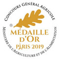 médaille or 2019 paris