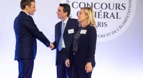 Prix d'Excellence remis par Emmanuel Macron